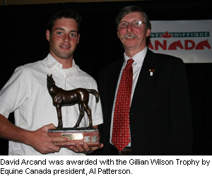 Equine Canada Junior Equestrian Of The Year Award For 2008
