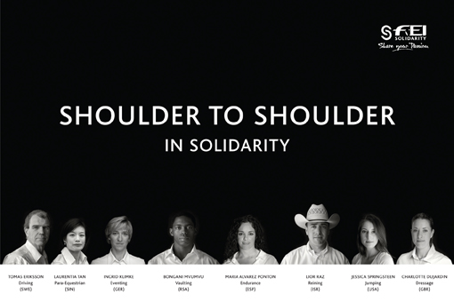 FEI Solidarity Ambassadors Shoulder to Shoulder