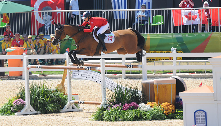 Amy Millar and Heros - clear round!